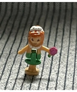 """Vintage 1995 Polly Pocket Glitter Island Story Book Replacement Doll """"LILY"""" - $24.99"""