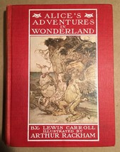 Lewis Carroll ALICE IN WONDERLAND -RACKHAM  US edition ca. 1925 - $124.95
