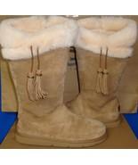 UGG Australia PLUMDALE Chestnut Suede Sheepskin Boots Size US 5, EU 36 N... - $133.60