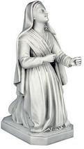 "St. Bernadette Catholic Christian sculpture statue 26"" replica reproduction - $276.21"