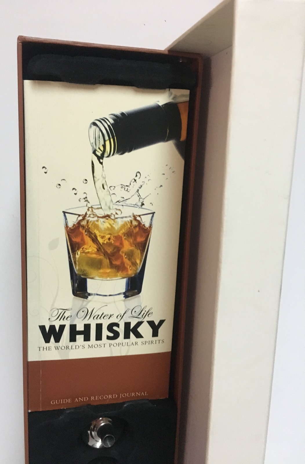 The Water of Life Whisky Flask Set Stainless Steel