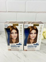 2x Clairol Permanent Root Touch-Up Matches 6WN Light Chocolate Brown Shades - $21.55