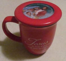 "Abbey Press ""Jesus is The Reason For The Season"" Collectible Red Novelty... - $19.99"