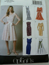 Vogue Pattern 8766 Dresses assorted styles Size 12 14 16 18 20 UNCUT - $6.92