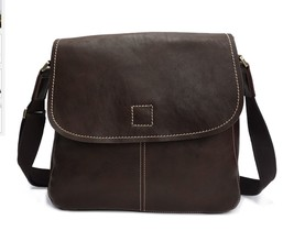 New Men's Italian Leather Messenger Bag Shoulder Bag 2191 - $145.95