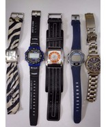 Lot of 5  Different Watches. Chico's New York & Company Levi Stratus and... - $25.00
