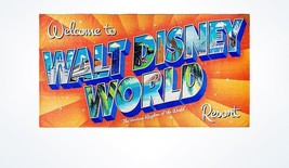 Disney Parks Welcome to Walt Disney World Resort Beach Towel New with Tags - $31.90