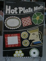 Star Book No. 70 Knitted Hot Plate Mats Pattern Booklet - $8.90