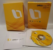 Microsoft Office 2008 Software Home & Student Edition for Mac Apple  - $9.74