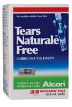 ALCON TEARS NATURALE 0.8ml X 32 Vials FREE Lubricant Eye Drops Each  - $17.67