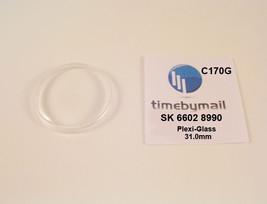 Watch Crystal For Seiko 6602 8990 Sea Horse Diashock Plexi-Glass Part C170G - $20.41