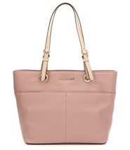 Michael Kors Bedford Top Zip Pocket Tote in Pebbled Leather (Fawn) - $109.99