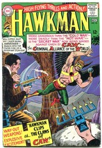 HAWKMAN #10 1966-SILVER AGE DC-12 cent- CAW VG - $31.53