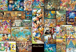 Tenyo Jigsaw Puzzle Art Collection Mickey Mouse 2000 Piece Japan - $59.37