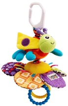 Lamaze Play & Grow Flutterbug Bee with Flower Plush Baby Take Along Acti... - $8.90