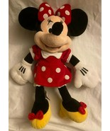 "DISNEY Classic MINNIE MOUSE Plush Stuffed Animal ***EXCELLENT*** 18""H x ... - $21.95"