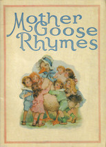 Mother Goose Rhymes-Gallery Graphics; Rare;HTF Reproduction of Antique B... - $12.97