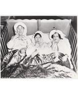 3 Stooges Bed Moe Larry Shemp Vintage 8X10 BW TV Memorabilia Photo - $6.99