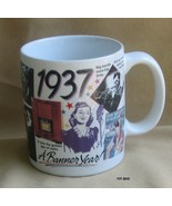 1937 A Banner Year Coffee Mug ....Celebrate 77 years of Living - $8.99