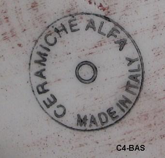 """5"""" Tall Ceramiche Alfa Ceramic Olive Oil Jug"""