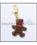 RARE NWOT Coach Japan Signature BEAR Brown Key ... - $135.00