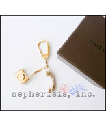 AUTH BNIB Louis Vuitton HOLLYWOOD PHONE & CAMERA Keychain Charm - $650.00