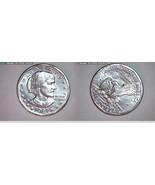 1981 P 1981 D 1981 S UNC SBA DOLLARS - $43.00