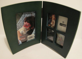 Wooden Green Double Side Single & Collage Photo Frame - $25.08