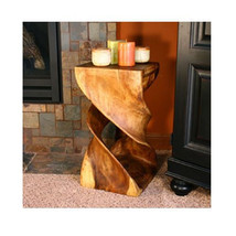 Wood End Table Vintage Side Mid Century Modern Tables Coffee Danish Uniq... - $233.24