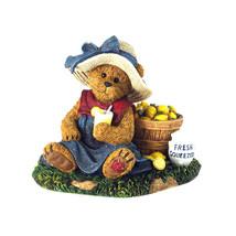 "Boyds Bearstone ""Trisha Tartbeary...Lil' Entrepreneur"" #4033634  1 E  Nib  2012 - $36.99"
