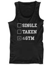 Men's Funny Graphic Workout Tank fitness workout shirts - At The Gym - $14.99+