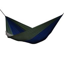 Vivere Parachute Nylon Hammock - Double (Navy/Olive) - $47.05