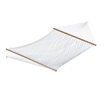 "Vivere 60"" Polyester Rope Hammock - Double (White) - $106.68"
