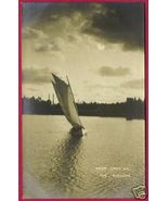 RPPC LAKE OUACHITA Sailboat Moonlight AK OK AZO - $15.00