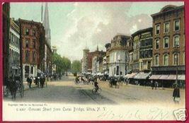 UTICA NEW YORK NY Genesee St Rotograph UDB 1906 - $15.00