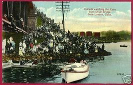 NEW LONDON CONNECTICUT Crowds watch Boat Race CT - $12.50