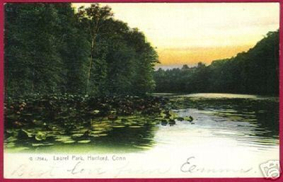 Primary image for HARTFORD CONNECTICUT Laurel Park UDB 1907