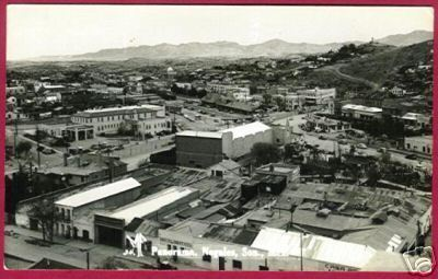 NOGALES SON. MEXICO RPPC Panorama SELLO