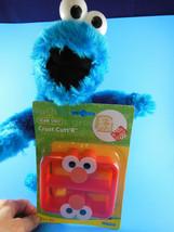 "Sesame Street Cookie Monster Plush 13""  Nanco 2003 plus Grover crust cutter - $11.77"