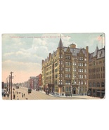 York PA Colonial Hotel Centre Square So George St Vintage 1915 Postcard - $4.99