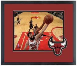 Nikola Mirotic 2014-15 Chicago Bulls - 11 x 14 Team Logo Matted/Framed P... - $42.95