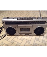 Vintage CONTEC AM/FM Radio Portable Cassette Recorder Boombox - $45.00
