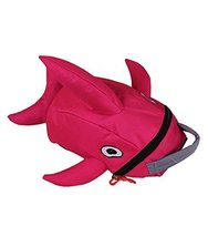 Lovely Dolphin Knapsack Kindergarten School Bag, Rose(2319 cm)