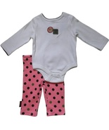 Disney Baby Girls 0-3 Mos. Bodysuit and Leggings Outfit - $6.99
