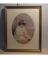 """1892 """"Little Speedwell's Darling Blue""""John E. Millais Print of oil paint... - $57.74"""