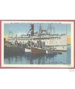 WOODS HOLE CAPE COD MASSACHUSETTS Ships Steamboat - $6.00