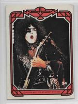 KISS Paul Stanley 1978 AUCOIN MANAGEMENT Card 34 Kiss Army Rock n Roll - $2.75
