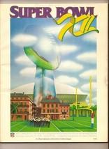 SUPER BOWL 12 XII GAME PROGRAM Cowboys Broncos - $116.88