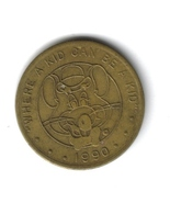 Chuck E. Cheese 1990 25 Cent Coin - £2.25 GBP