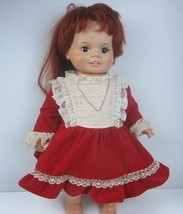 "Vintage 1973 Ideal Corp 23"" Lifesize Baby Chrissy With Growing Hair Snap... - $29.92"